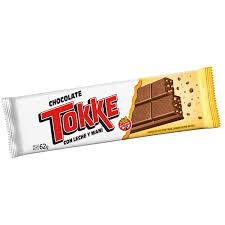 CHOCOLATE TOKKE LECHE/MANI 62g x 1u