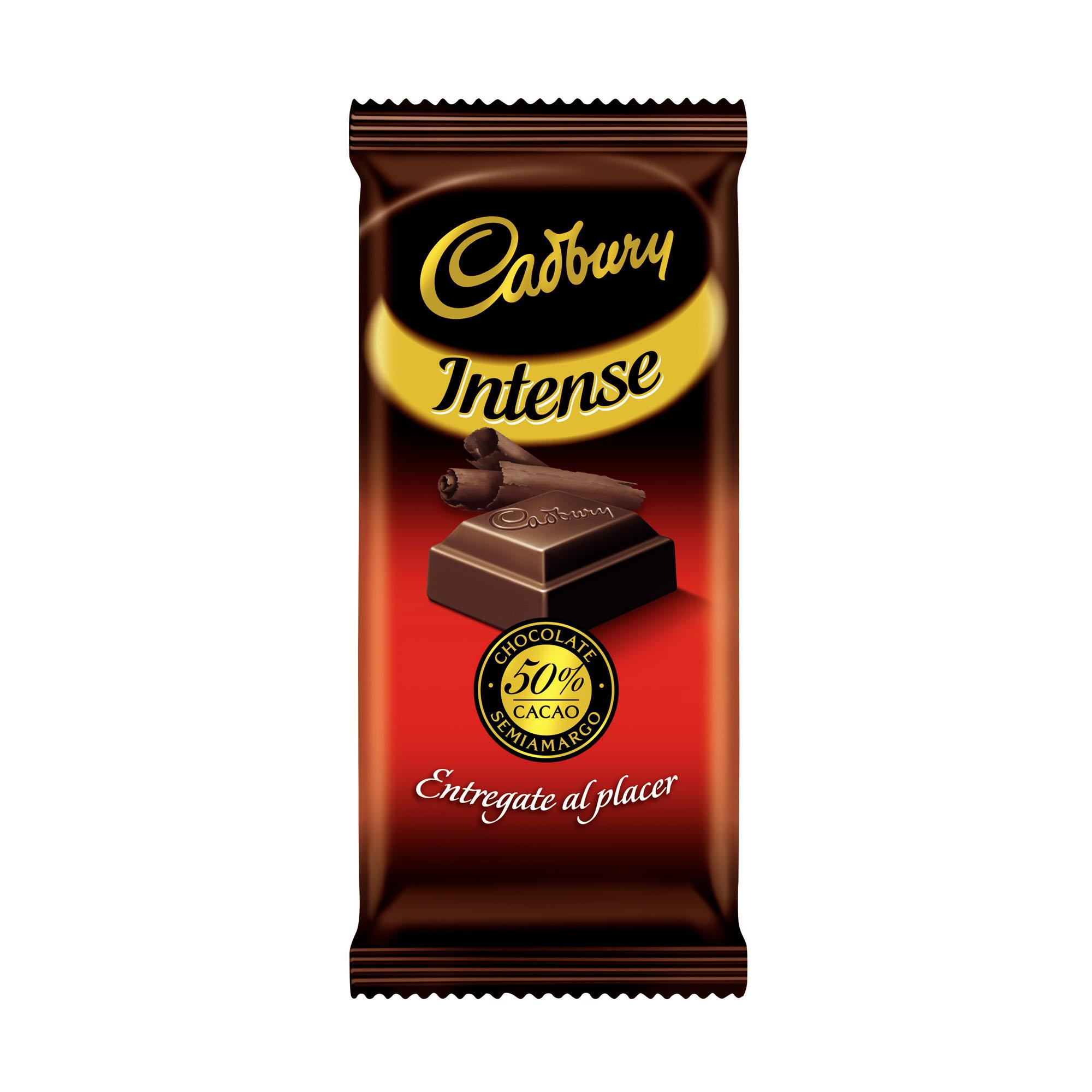 CHOCOLATE CADBURY INTENSE 170G