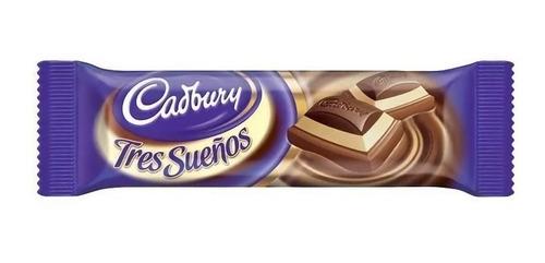 CADBURY TRES SUEÑOS CHOCOLATE 24G