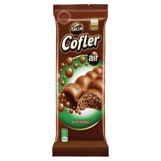 CHOCOLATE COFLER AIREADO ALMENDRAS 55g