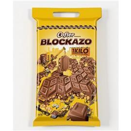 CHOCOLATE COFLER BLOCK 1KG X 1U