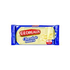 CHOCOLATE GEORGALOS BLANCO 25G X 24 U