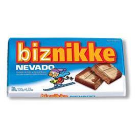 CHOCOLATE BIZNIKKE NEVADO 120G X 1