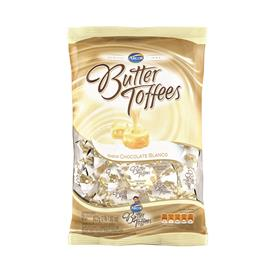 CARAMELOS BUTTER TOFFEES CHOCOLATE BLANCO 822G