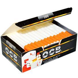 TUBOS OCB BLACK x100u