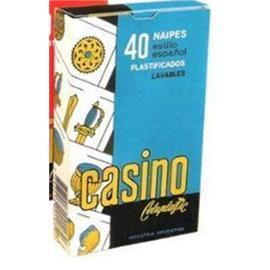 NAIPES CASINO BARAJA ESPAÑOLA 40 CARTAS X 1U