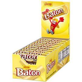 CHOCOLATE BATON GAROTO BLANCO 16g x 30u