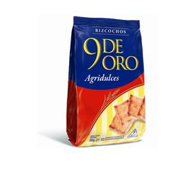 BIZCOCHOS 9 DE ORO AGRIDULCES 200G