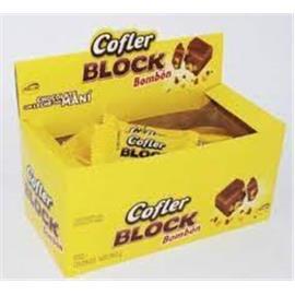 CHOCOLATE COFLER BLOCK BOMBON 16g x 16U