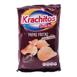 KRACHITOS PAPAS FRITAS JAMON 55G