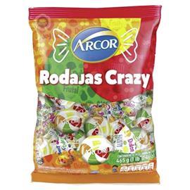 CARAMELOS RODAJAS CRAZY ARCOR 465g x 1u