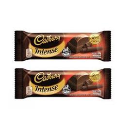 CADBURY INTENSE CHOCOLATE 24G X 12U