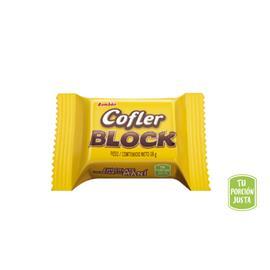 CHOCOLATE COFLER BLOCK BOMBON X 1U