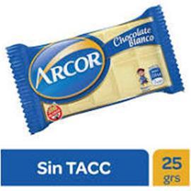 CHOCOLATE  ARCOR BLANCO 25G X 30U