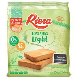 TOSTADAS RIERA EQUILIBRIO LIGHT 200G