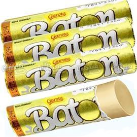 CHOCOLATE BATON BLANCO GAROTO 16g x 1u