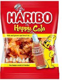 GOMITAS HARIBO HAPPY COLA X80G