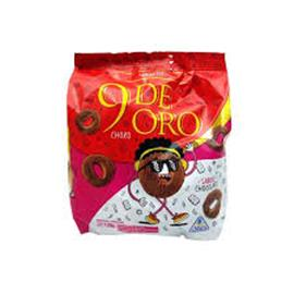 9 DE ORO  CHOCOLATE 120g