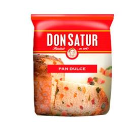 PAN DULCE DON SATUR  CON FRUTA X 400 G
