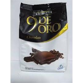 9 DE ORO CHOCOLATE RELLENO CHOCOLATE 120g