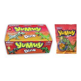 GOMITAS YUMMY DINO 30G X 12U